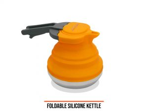 DH folding silicone kettle